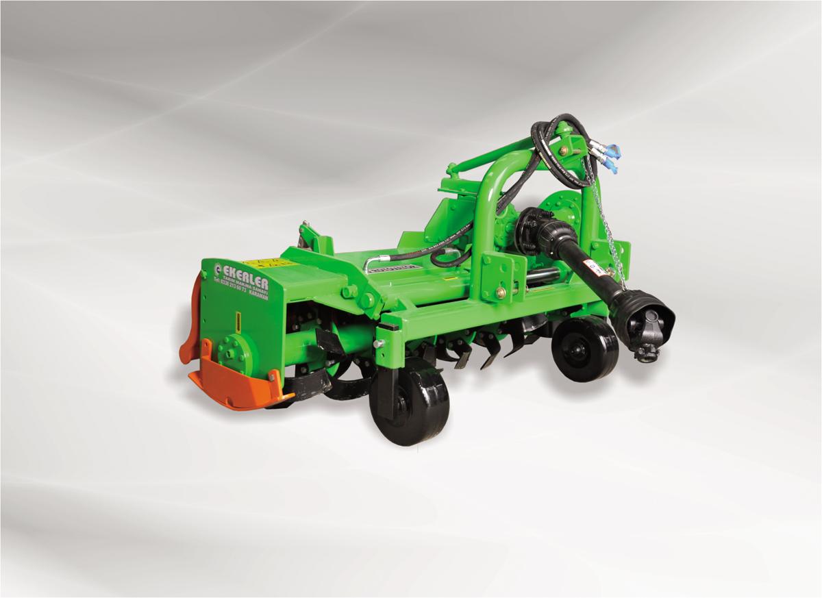 Ekerler Bahçe Tipi modellerinde kullanılan balatalı tip kavrama sistemi sayesinde traktörden gelen ani hareketlerin şanzımana zarar vermesi engellenir. Bu sayede kullanıcıya uzun ömürlü bir kullanım sunulur. Güçlü, sağlam gövde yapısıyla zorlu toprak şartlarına dayanır. Dayanımı yüksek ve en iyi formda tasarlanmış bıçaklar sayesinde kolayca parçalanır ve karıştırılır. Ekerler Bahçe Tipi Rotovatörlerde kullanılan 4 vitesli şanzıman , farklı toprak koşullarında daha güvenli ve konforlu kullanım sağlar. Hidrolik Kaydırmalı Ekerler Bahçe Tipi modellerinde sunulan hidrolik kaydırma sistemi sayesinde, operatörün traktörden inmeden makineyi engellerden uzaklaştırması sağlanır. Bu sayede uzun saatler konforlu bir kullanım sunulmaktadır.